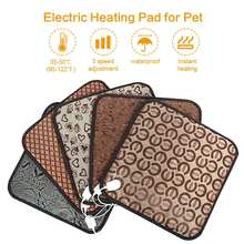 Pet Dog Electric Heating Pads Winter Warmer Carpet Animals Bed Heater Indoor Warming Mat Auto Waterproof(China)
