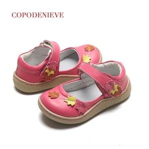 Image 3 - Copodenieve zapatos de cuero para niñas, zapatos escolares, de vestir, zapatos mary jane, accesorios para bebés