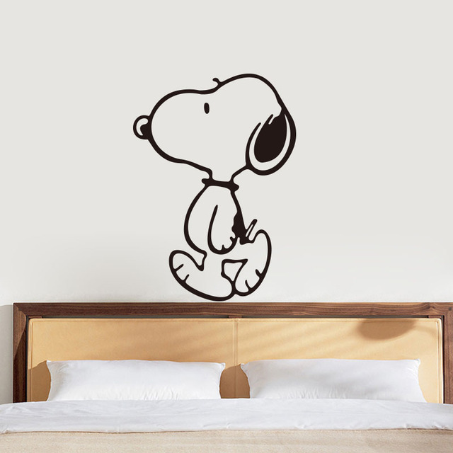 Muyuchunhua Cute Dog Cartoon Sticker Nursery Wall Stickers For Baby