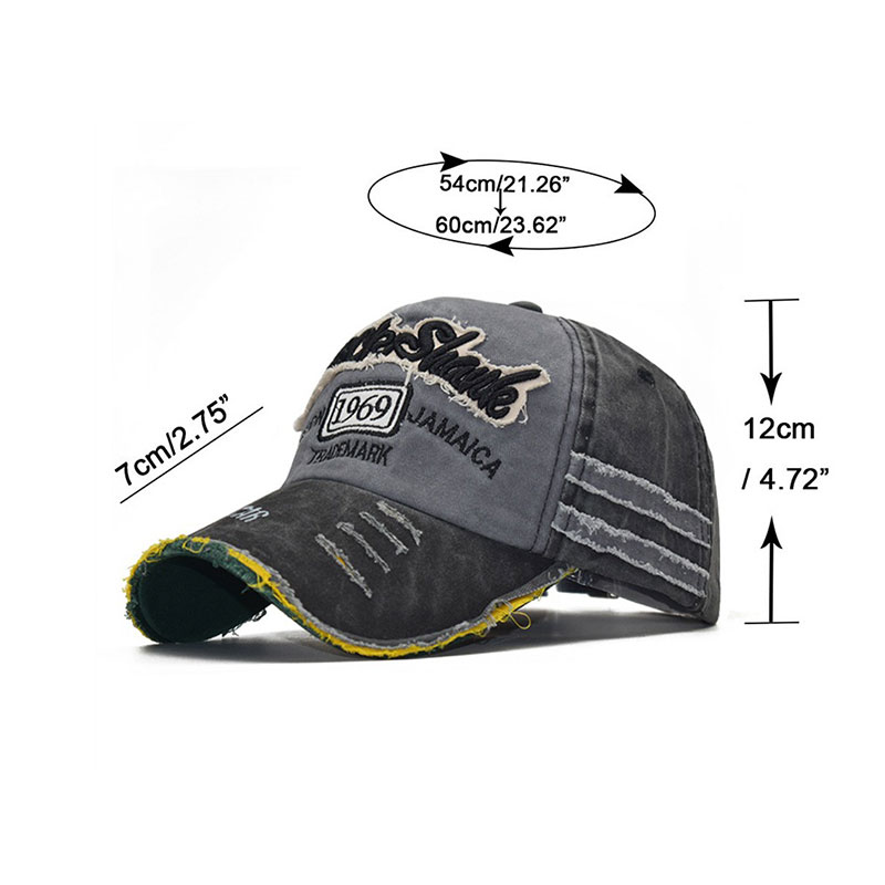 XCZJ Summer Mesh Hats Sun Protection Breathable Hat Cotton Fitted Baseball Cap Unisex Cap Headdress Adjustable Ponytail Hat H047 in Men 39 s Baseball Caps from Apparel Accessories