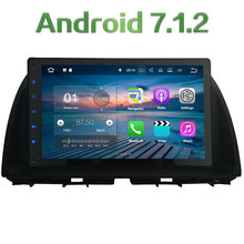 2GB RAM 16GB ROM 2 Din Android 7.1.2 Quad core Steering Wheel Control Car multimedia Player Touch Screen For Mazda CX-5 Atenza