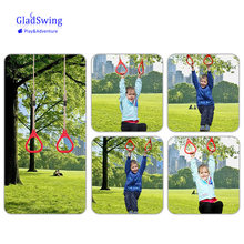 Children Playground Flying Gym Rings Swing Flying Pull Up Ring Sports Outdoor Indoor Swing Games for Kids Gift (S8(China)