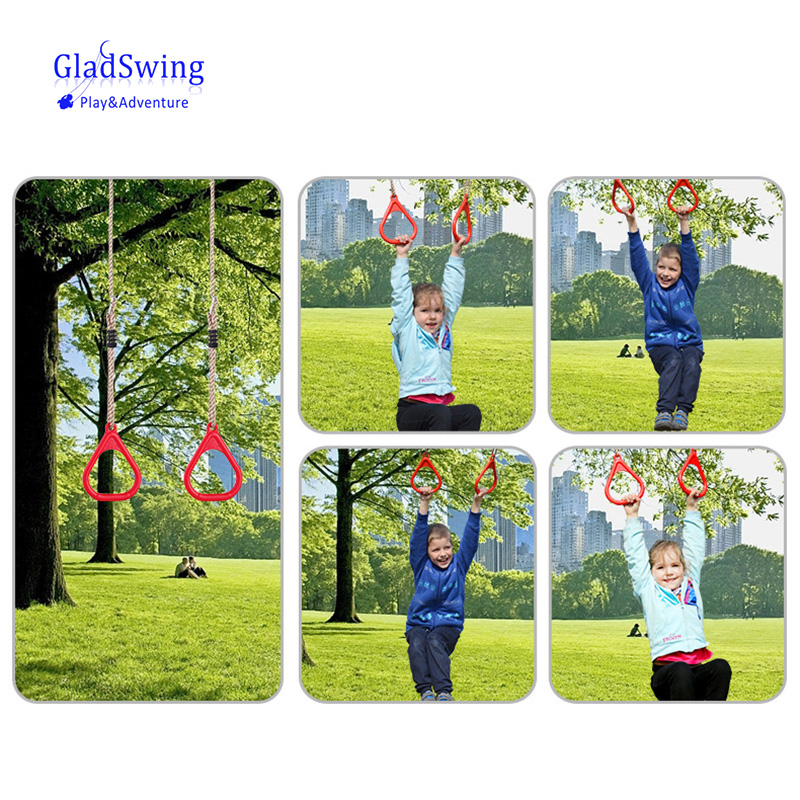 Children Playground Flying Gym Rings Swing Flying Pull Up Ring Sports O