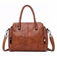 Vintage Three Bag Weaving HandBag Leather Luxury Handbags women Bags Designer Handbags High Quality Large Tote Sac A Main
