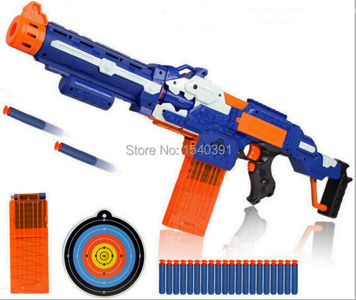 Image is loading Best-Nerf-Gun-For-Boys-Sniper-Scope-Pistol-