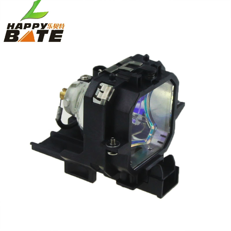 happybate ELPLP21/V13H010L21 for EMP-53 EMP-73 / PowerLite 53c PowerLite 73c Replacement Projector Bare Lamp with Housing