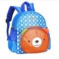 Cute Cartoon Fashion Children's School Bag High Quality PU Boys Girls Little Bear School Bag Breathable Baby School Bag B154