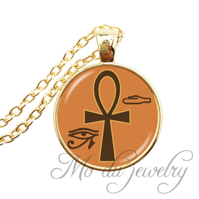 Online Shop Egyptian Cross Ankh Necklaces Egyptian Ankh Eternal Life
