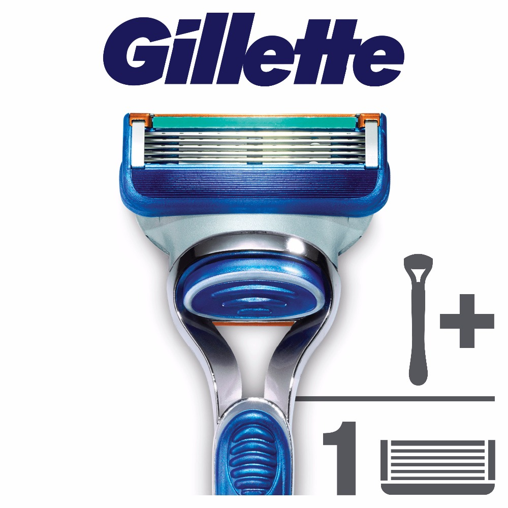 Razor Gillette Fusion Shaver Razors Machine for shaving + 1 Razor Blades for Shaving Machine razor gillette venus spa breeze shaver razors machine for shaving 2 razor blades