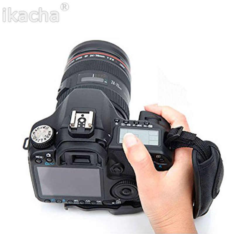 Рукоятка Камера ремень PU кожаный ремешок на руку для sony Olympus Nikon для цифровой однообъективной зеркальной камеры Canon EOS D800 D700 D600 D650 D5100 D3200 DSLR Камера