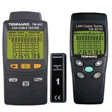 TM-902 Тестер кабеля сети и Трекер Провода с Lan кабель тестер цены