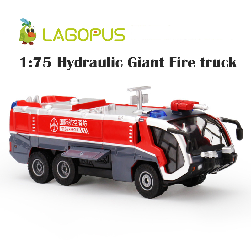 1:50 5pc Set Diecast Metal Ladder Fire Engine Alloy Car Model Fire Rescue Vehicle Toy Dinky Toys For Children Collection Boy New