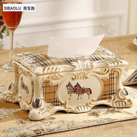 10 Removable tissue box 10 Luxury royal vintage Ivory ceramic table tissue box classic paper box househome decoration