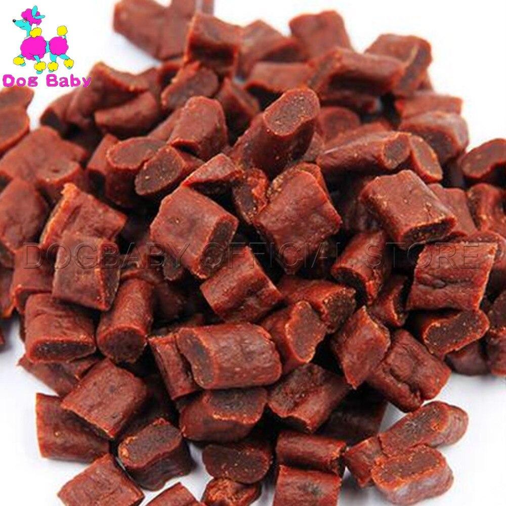 DOGBABY masticar comida de perro alimentadores carne fresca Material perros aperitivos alimentos para pequeños perros grandes Dlicious carne aperitivos 200g de