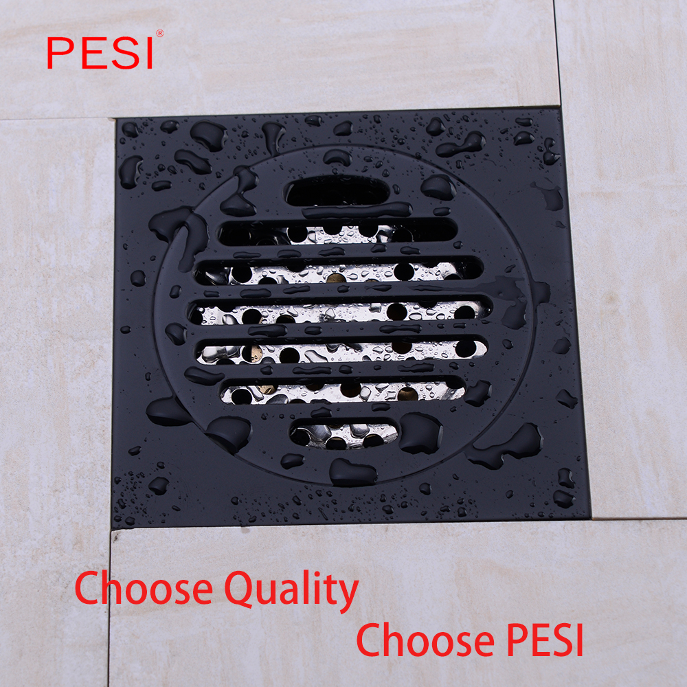 4 Inch 10mm Square Odor Resistant Floor Drain Cover