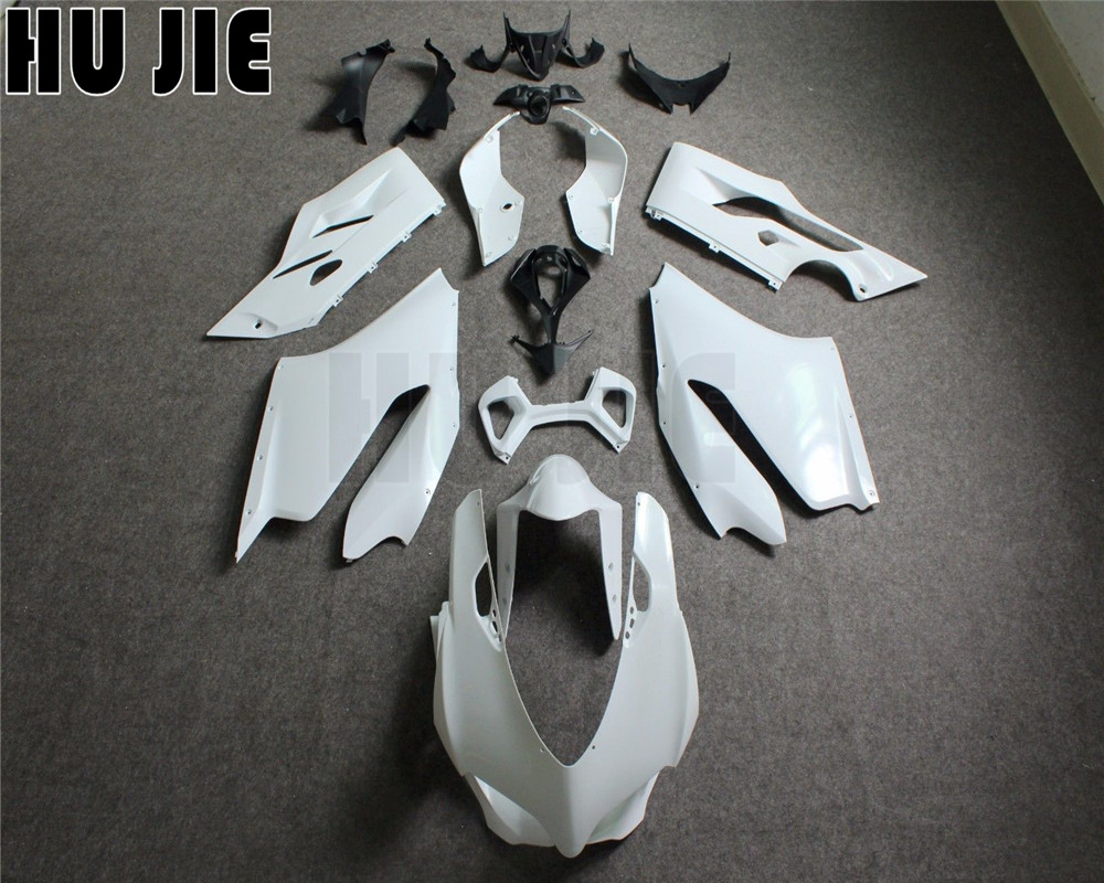 ABS Injection Molding Unpainted Fairing Kit For DUCATI 1199 899 Panigale 2012 2013 2014 Motorcycle Bodywork FairingsABS Injection Molding Unpainted Fairing Kit For DUCATI 1199 899 Panigale 2012 2013 2014 Motorcycle Bodywork Fairings