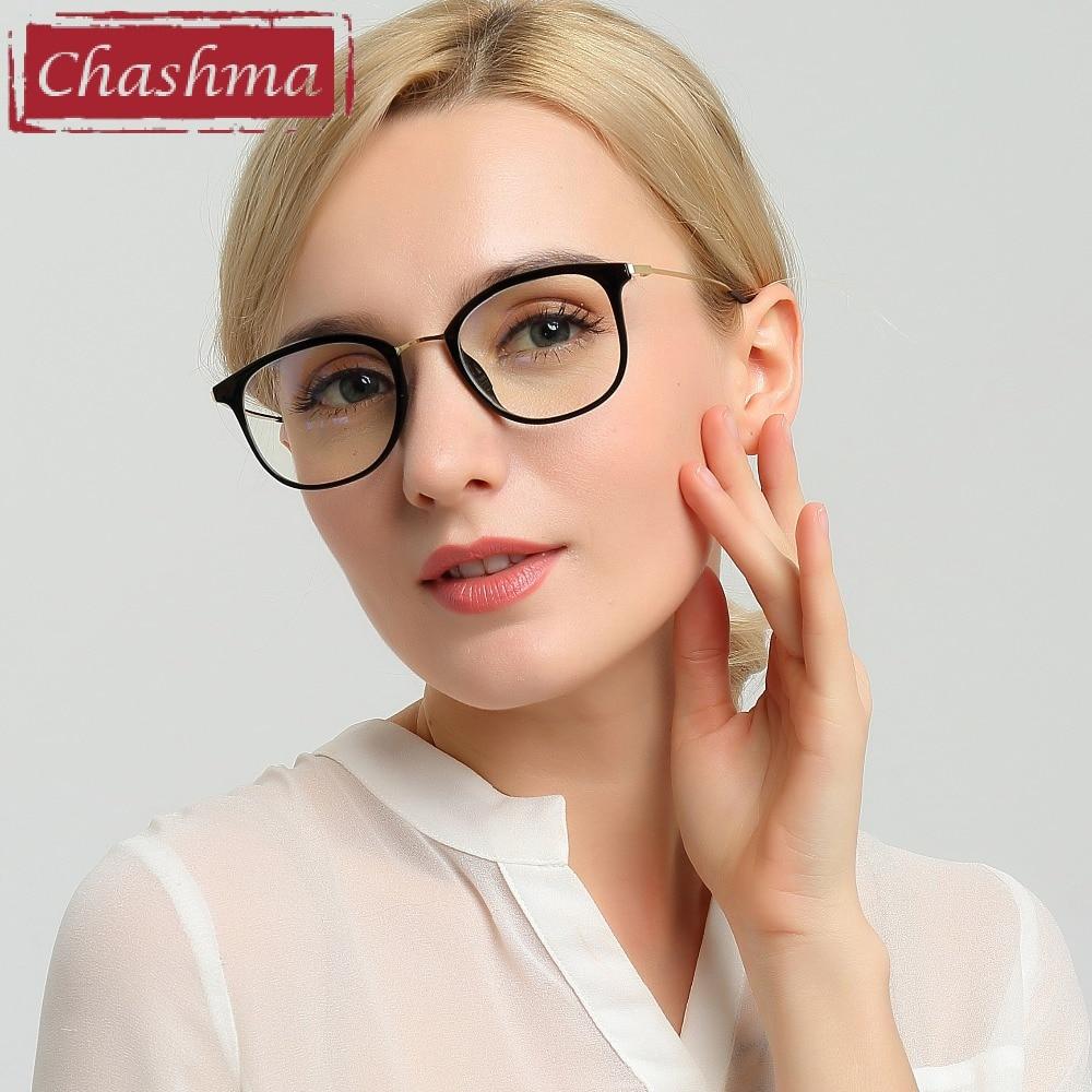 Chashma Chashma Brand Eye Glasses TR 90 Women Light Glasses Frame Fresh Trend Style Eyewear Fashion Glasses for Female and Male