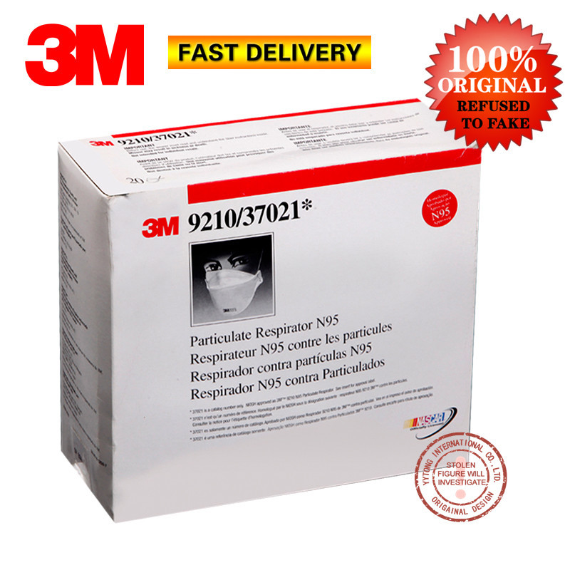 3m 9210 n95 particulate respirator mask 20-pack