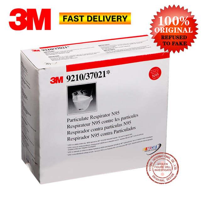 Flat Per Fold Series Box 9210b N95 9210 Respirator 20 3m