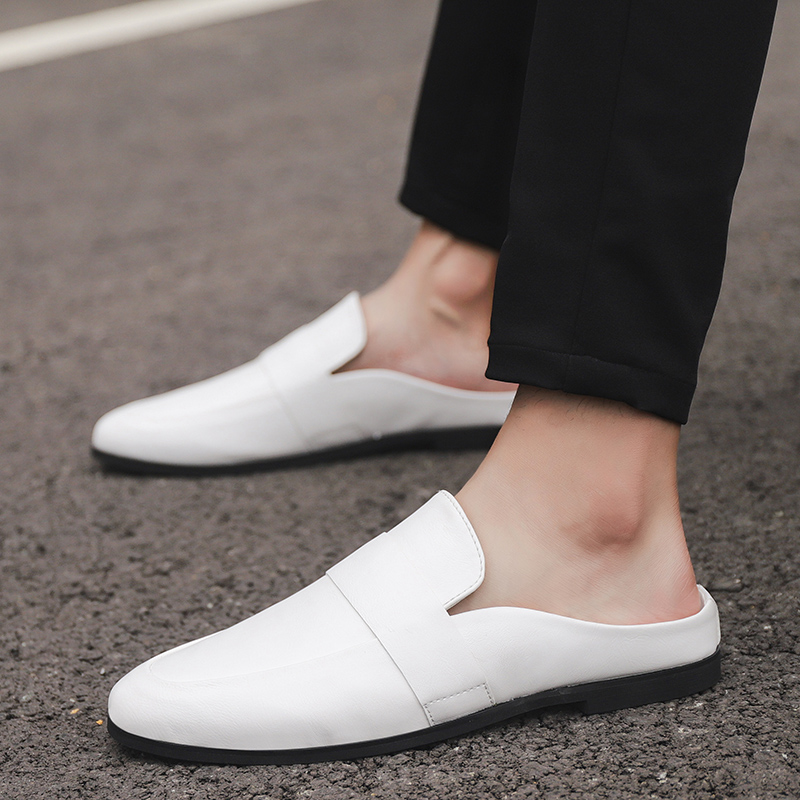 Thestron Leather Shoes Men Casual Shoes Loafers Male Black White 2018 Summer Autumn New Lightweight Footwear Slip-On Hot Sale цены онлайн