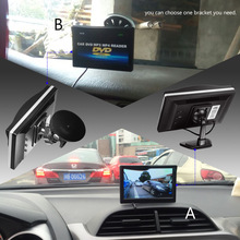 5.0 Inch Car Monitor TFT LCD 800*480 Color 16:9 Screen 2 Way Video