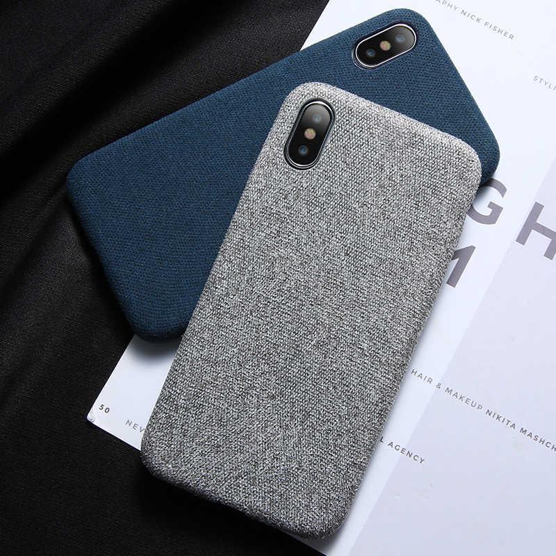 FLOVEME чехол для iPhone 7 6 X роскошные ткани Текстура ультра мягкий ТПУ силиконовый чехол для iPhone 8 iPhone 6 6s 7 plus чехол для телефона сумка for iphone 7 x case чехол на айфон 7 6 6s For iphone Xs Max X case