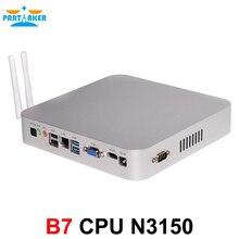 Intel Celeron 4 ядра N3150 Мини-ПК с HDMI VGA com WIFI300M