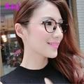 2016 Vintage Decoration Optical Eyeglasses Frame myopia round metal men women unisex spectacles eye glasses oculos de eyewear