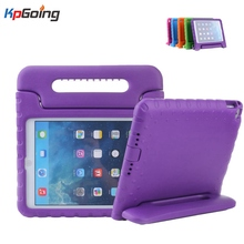Top Case para IPad Air 2/IPad 6 Caja de la Tableta para Niños los niños con Mango Funda para IPad Aire 2 Tablet Protección Duro cubierta