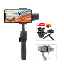 Eyemind 2 Three-Axis Handheld Stabilizer for iPhone Huawei P30 Android Smart Phones Gopro 7 6 5 Osmo Action 2019 funsnap caputure 2 three axis phone handle gimbal stabilizer for andriod ios smartphones gopro 5 6 7 action cameras