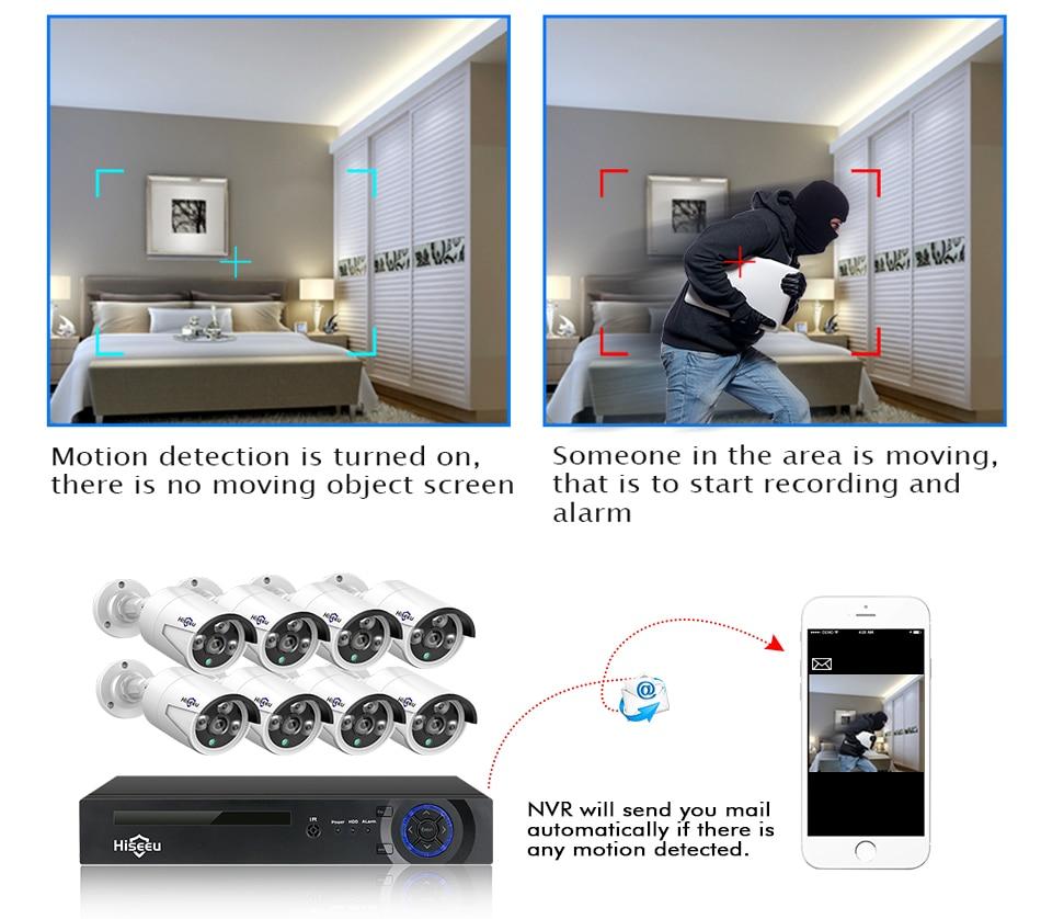 HTB1DacJelWD3KVjSZFsq6AqkpXam Hiseeu H.265 8CH 4MP POE Security Camera System Kit Audio Record IP Camera IR Outdoor Waterproof CCTV Video Surveillance NVR Set