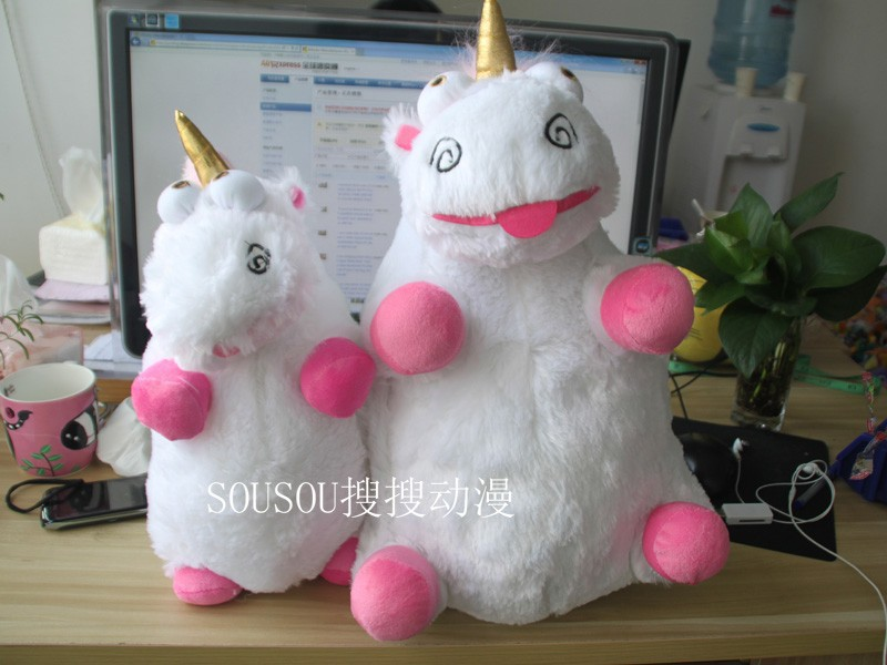 Us 18 6 Brand New Despicable Me 25 Inch Unicorn Plush Toy Doll Despicable Me Fluffy Unicorn Soft Stuffed Plush Doll Toy 16 40cm In Movies Tv