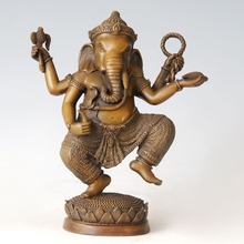 ATLIE BRONZES bronze Statue Sri Ganesh Lucky god Buddha sculpture figurine decoration gifts sri sri ravi shankar secrets of relationships