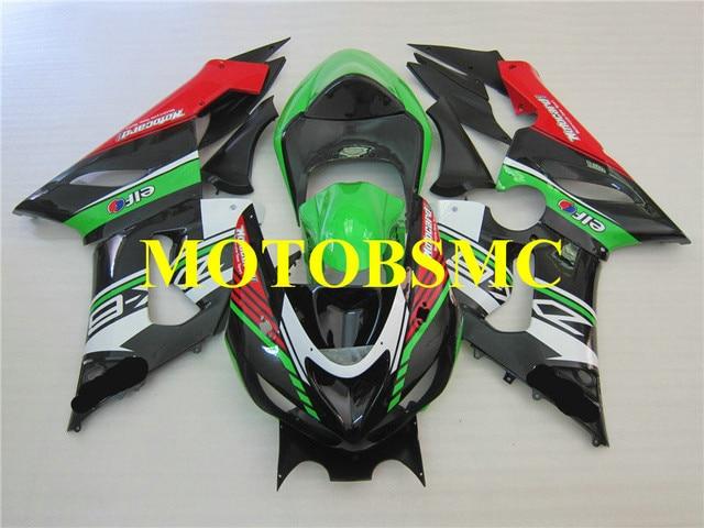 Hot Sale Motorcycle Fairing Kit For Kawasaki Ninja Zx6r 636 05 06