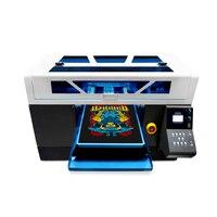 Автоматическая для ткани принтер для футболок 8 цветов цифровой заказ DIY одежды для 2 Epson 4720 телефон случае карты струйный планшетный принтер