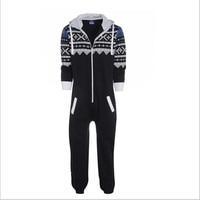Plus Size S 2xl New Unisex Pyjamas Adult Pajamas Onesie Mens Women Pajamas Sleepsuit Sleepwear Jumpsuit
