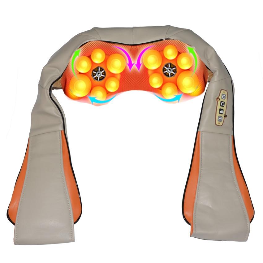 Amkee Home Car Electrical Body Massager Relaxation font b Massage b font U Shape Neck Back