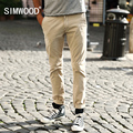 SIMWOOD 2016 New Arrival Fashion Brand Men Clothing Casual Slim Fit Cotton Long Pants Mens Sweatpants Free Shipping  KX5501