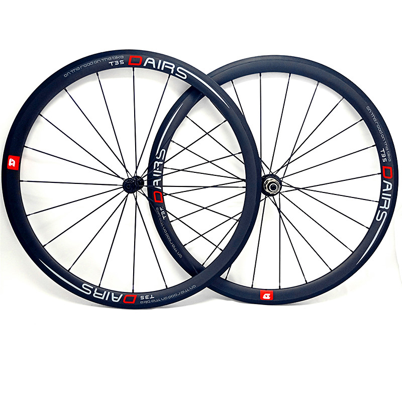 700c carbon road wheels 38x25mm tubular road wheels powerway R13 hubs 20/24 pillar 1432 spokes 1350g carbon road wheelset