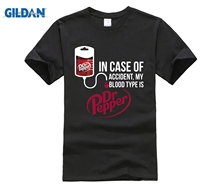 In Case Of Accident My Blood Type Is Dr Pepper Shirts стоимость