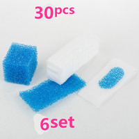 30pcs 6set For Thomas Twin Genius Kit Hepa Filter For Thomas 787203 Vacuum Cleaner Parts Aquafilter