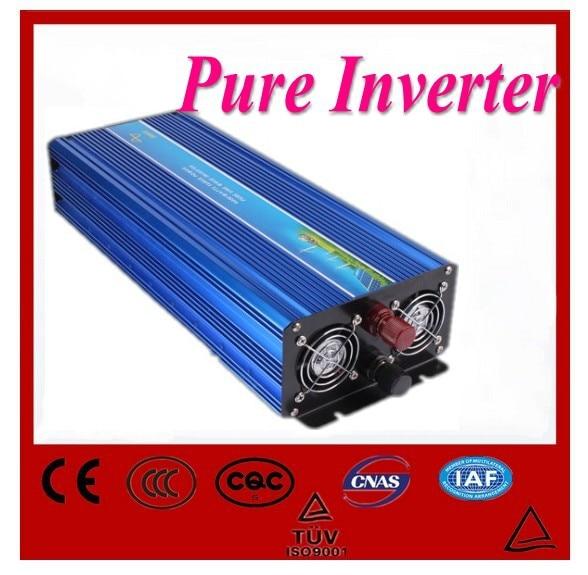 Digital Display AC Inverter Solar Inverter 5000Watt / 5000W 12VDC to 220VAC 10000W Peak Pure Sine Wave Power Inverter most advanced lcd display 3500w pure sine wave inverter 12vdc to 220vac 7000w peak dc to ac outdoor home frequency inverter