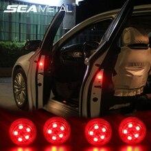 Лидер продаж 2019 двери автомобиля Аварийные огни автомобиль декоративные лампы сигнальный проблесковый фонарь дверной светодиодный светильник сигнальные лампы для свет аксессуары