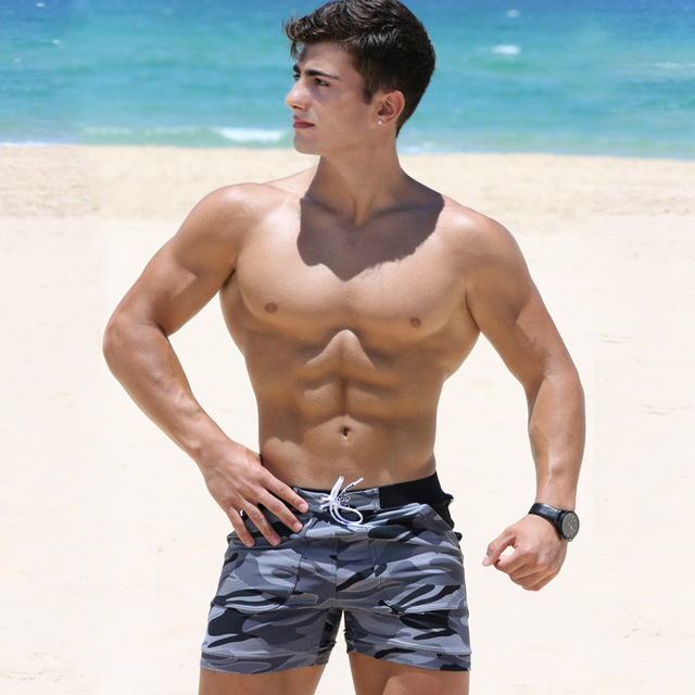 Taddlee Brand Sexy Men's Swimwear Swimsuits Man Plus Big Size XXL Spandex Beach Long Board Shorts Boxer High Rise Cut Trunks Men