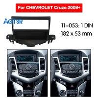 2 din Car Radio Fascia Frame For CHEVROLET Cruze 2009+ Stereo Audio Panel Trim Dash Mount CD Bezel Refitting Kit DVD
