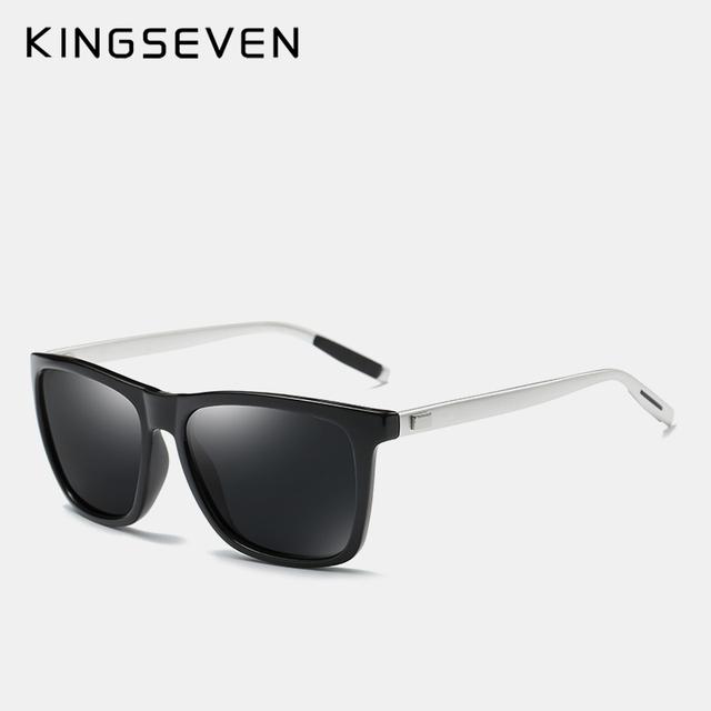 KINGSEVEN Brand Aluminum Frame Sunglasses Men Polar Mirror Sun glasses Women's Glasses Accessories N787