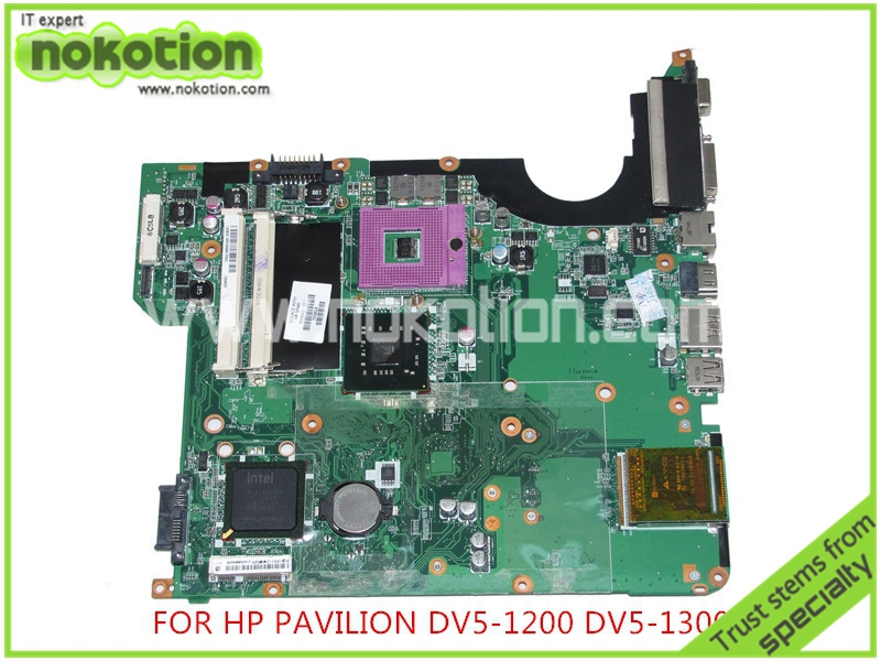 NOKOTION 504642-001 For hp pavilion DV5-1000 DV5-1200 DV5 laptop motherboard intel GM45 DDR2 Mainboard full tested смартфон xiaomi redmi note 5a prime 32gb grey