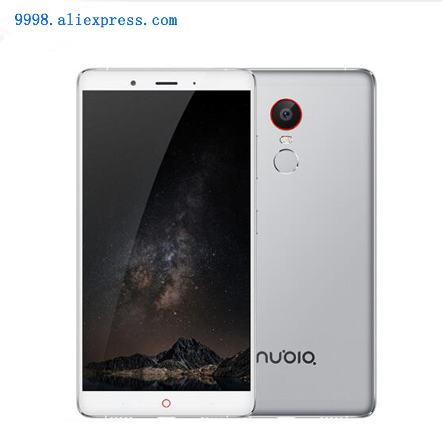 Original ZTE Nubia Z11 Max Cell Phone 4GB RAM 64GB ROM Octa Core 13 16MP Camera