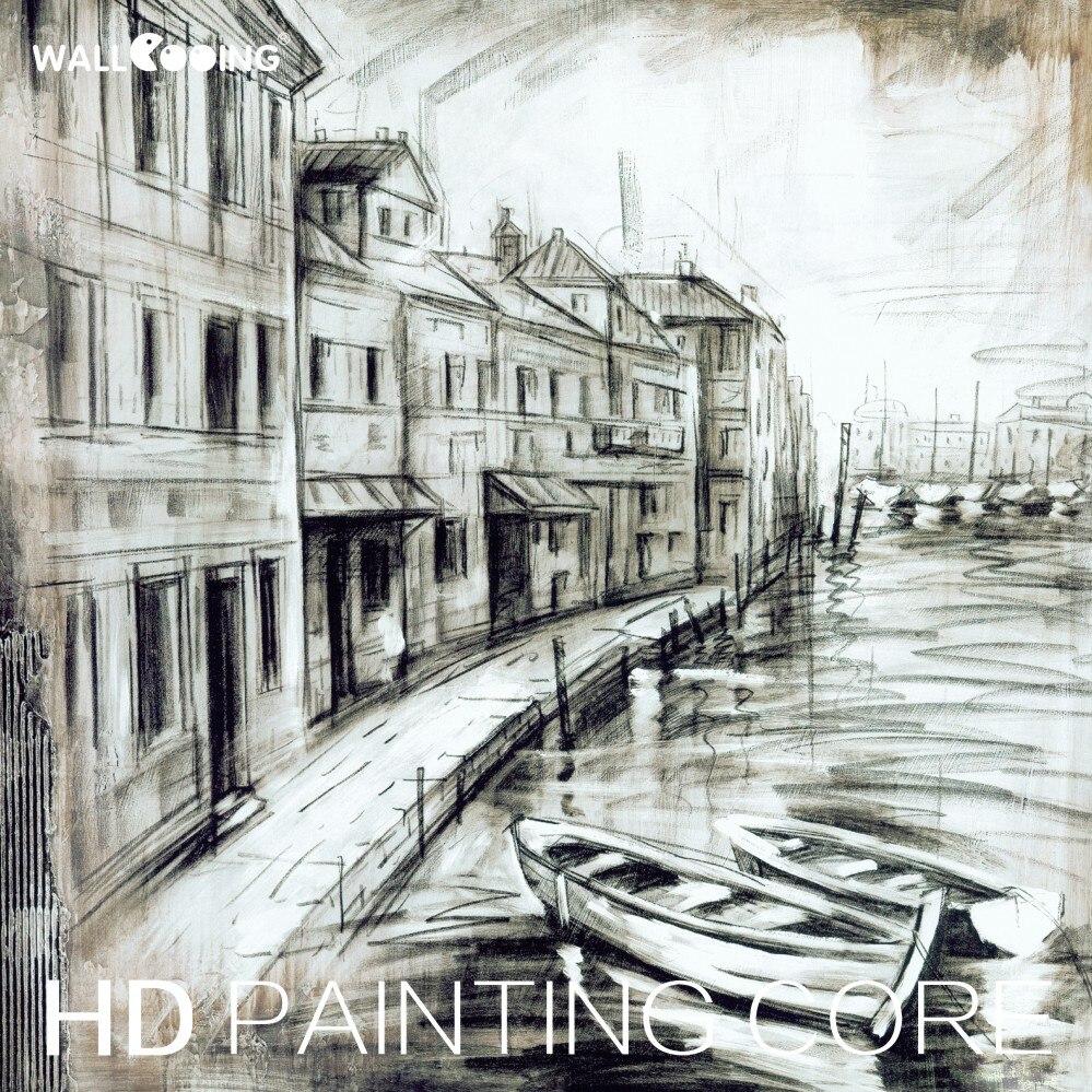 40 Koleksi Lukisan Pemandangan Sketsa Gratis Terbaru