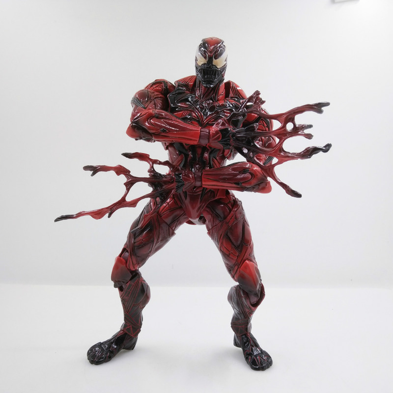 Spider-Man Figure Pa-Secret-Wars Doll-Toys Play Arts Peter-Parker No 27cm LIMITED Kids Gift